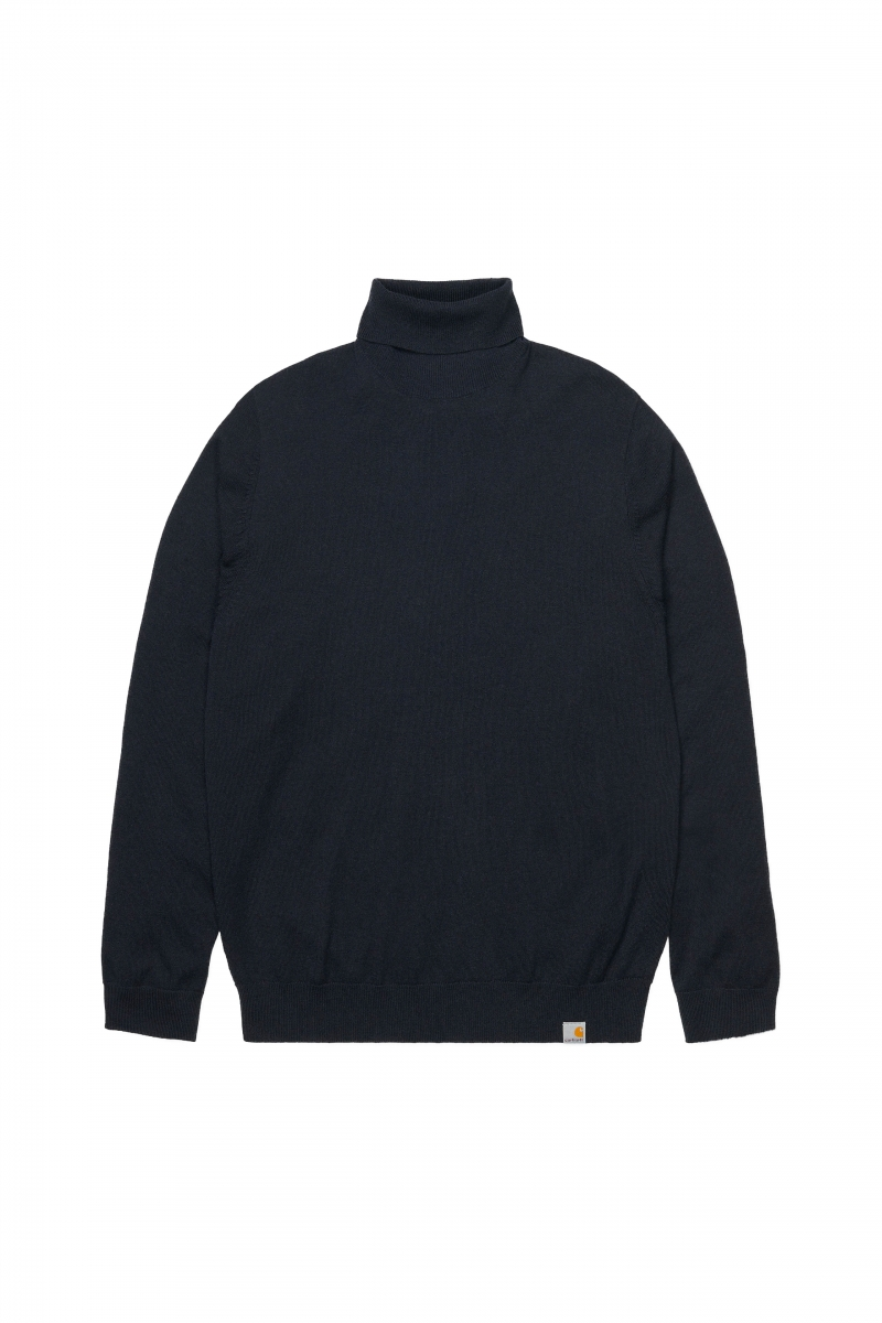 PLAYOFF TURTLENECK | DARK NAVY