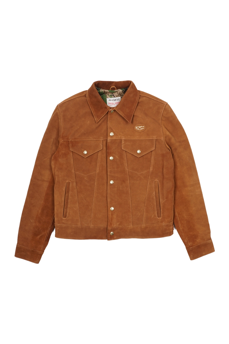 WESTERN JACKET | BROWN